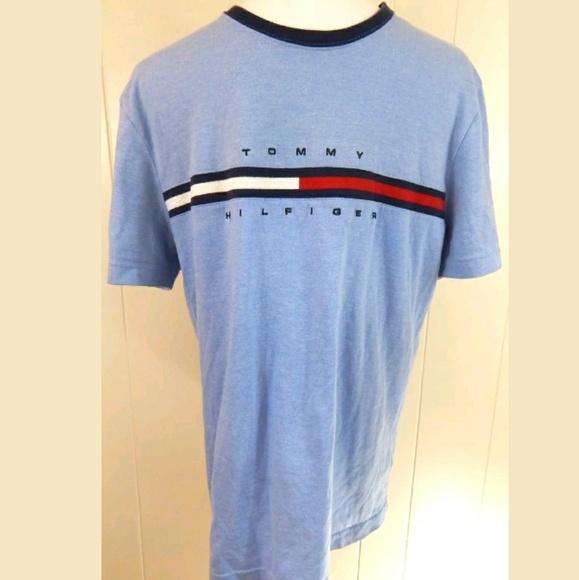 6e2b6562 Tommy Hilfiger Shirts | Spellout Ringer Tee | Poshmark